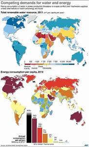 MAP: The World's Water Scarcity Problem Is Bad And Getting ...