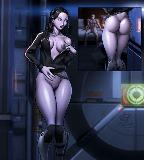 tali zorah nar rayya oni mass effect the hentai world