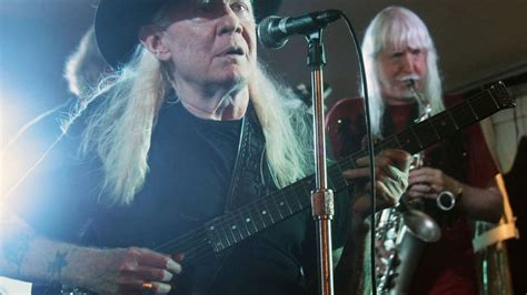 edgar winter pays tribute  johnny  greatest musical