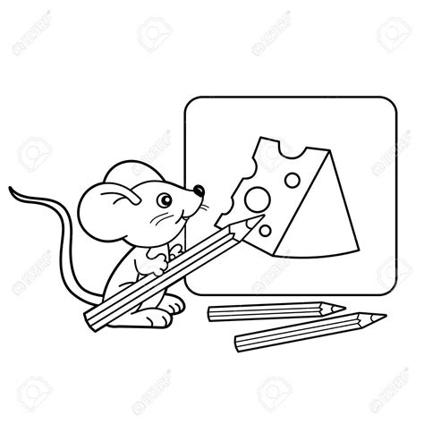 mouse outline drawing  getdrawings