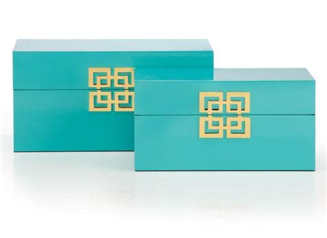 gallerie ming boxes set   white