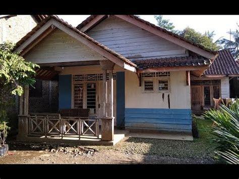 keren rumah semi permanen minimalis sederhana  murah