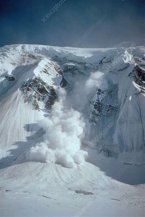 Avalanche - Stock Image - E130/0006 - Science Photo Library