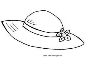 hat coloring pages to and print for free