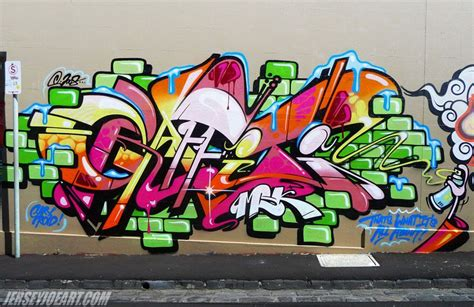 art graffiti letters image colorful street
