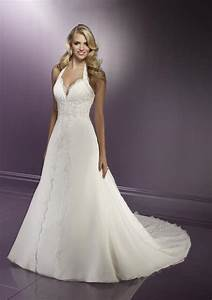 the gorgeousness of halter neckline wedding dresses sang With halter wedding dress