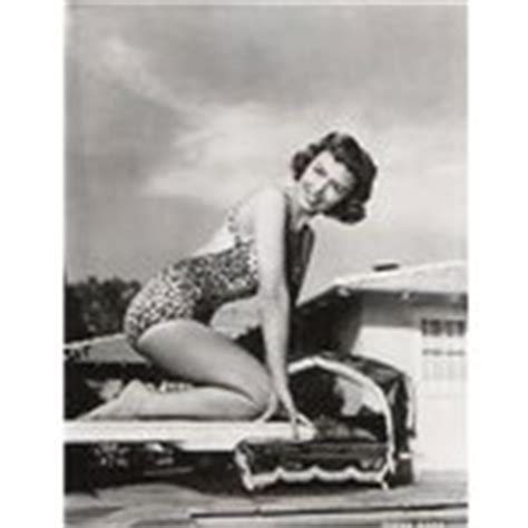 donna reed swimsuit donna reed in leopard skin swimsuit sizzling orig photo