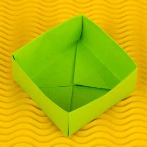 Origami Schachtel Falten Mit Deckel Anleitung