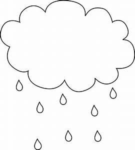 Rain Cloud Clipart Black And White | Clipart Panda - Free ...