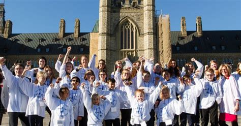 We Sent 28 Kids To Ottawa To Call For A Cure To Type 1
