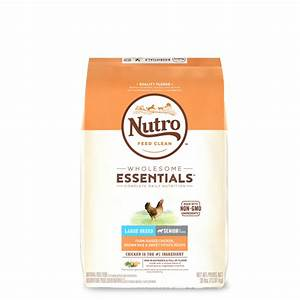 nutrotm wholesome essentialstm large breed senior farm With nutro max large breed dog food
