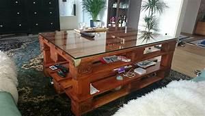 Weinkisten Holz Gratis : einfache diy anleitung f r einen stabilen couchtisch aus europaletten mit glasplatte zum ~ Orissabook.com Haus und Dekorationen