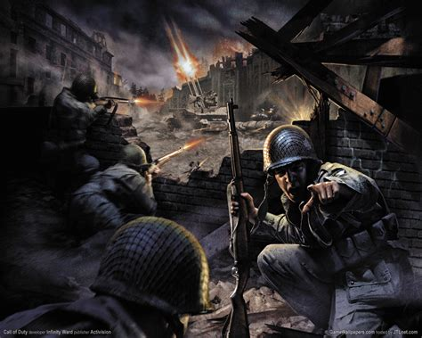Call of duty  Shooting Flash Games