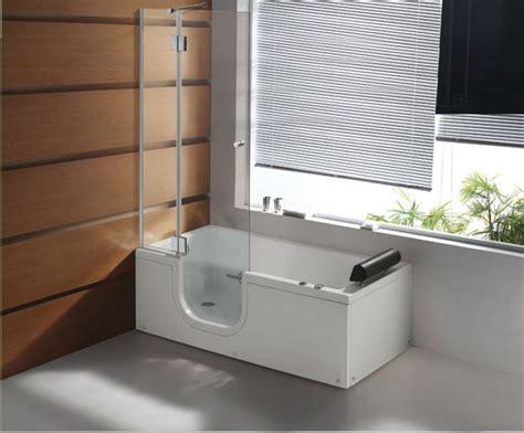 Walk-In Bath Tub Shower Combo