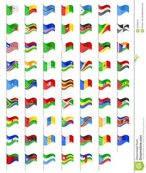 clipart bandiere bandiere dell illustrazione di vettore dei paesi dell