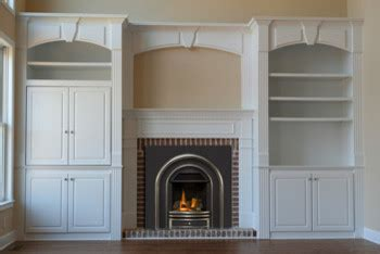 gas fireplace with built in cabinets fireplace with built in cabinets traditional family