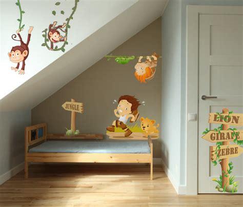 decore ta chambre stickers aventurier vente stickers animaux de la jungle