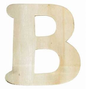 unfinished wooden letter quotbquot word and letter cutouts With wooden craft letters