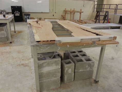 how to make a concrete table cherry and concrete dining table tables cherries and