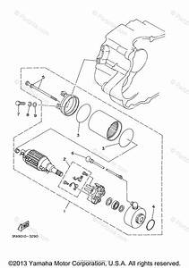 Yamaha Atv 2008 Oem Parts Diagram For Starting Motor