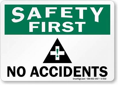 Safety Sign Accidents Accident Signs Slogan Graphic