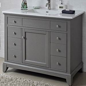 fairmont designs smithfield 42quot vanity medium gray With discount bathroom vanities mississauga