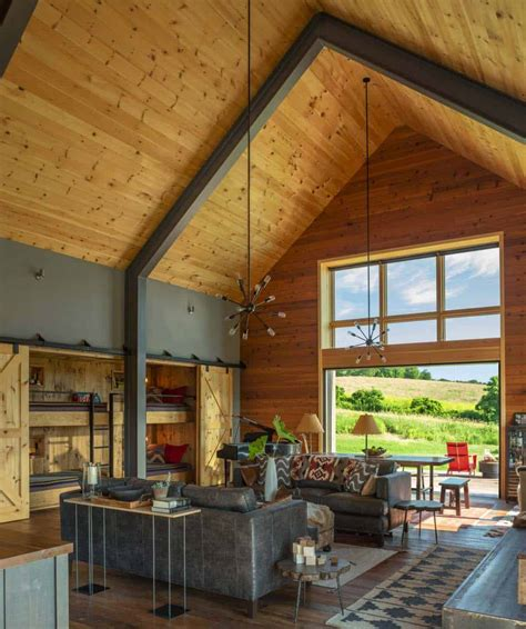 Barns Homes by Small And Cozy Modern Barn House Getaway In Vermont