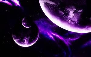 HD Purple Space Wallpaper - WallpaperSafari