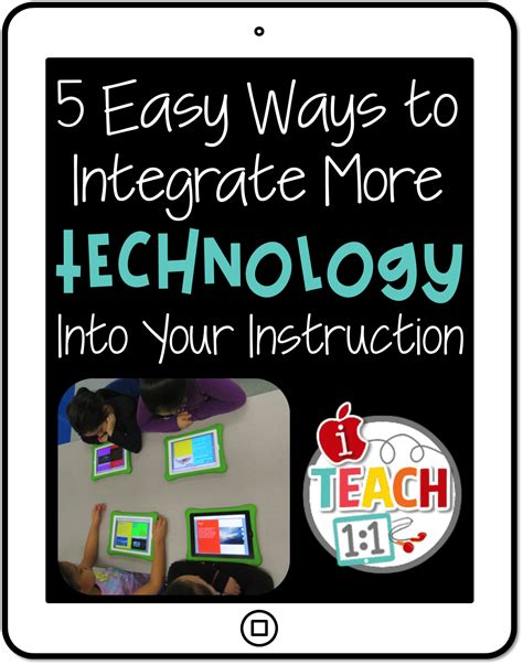 Iteach 11 5 Easy Ways To Integrate More Technology Into Your Instruction