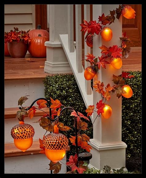 fall decorating ideas   front porch  commodities