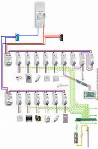 Disjoncteur Pour Vmc : sch ma de c blage branchement de tableau lectrique ~ Premium-room.com Idées de Décoration