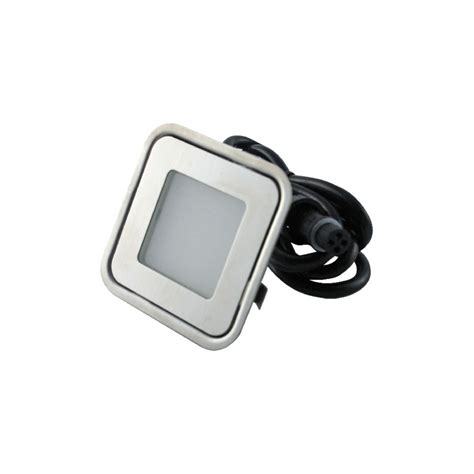 7colors outdoor square led step light set recessed deck