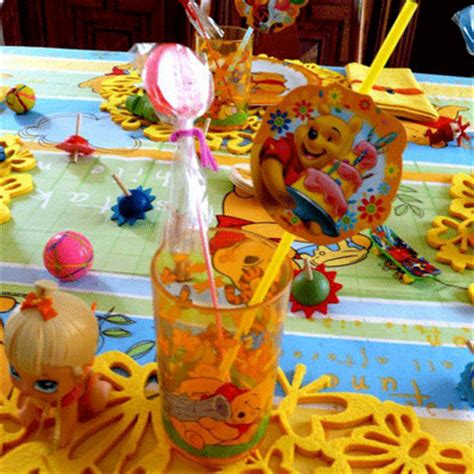 Winnie The Pooh Decoration Ideas - spinning table decorating ideas
