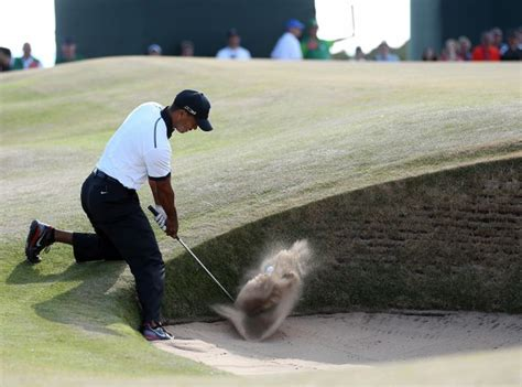 British Open: Tiger Woods opens with a 2-under par 69 ...