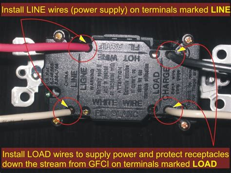 Electrical How Wire Gfci Provide Continuous