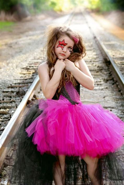rockstar queen girls dress birthday outfit photo prop