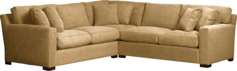 axis 3 piece sectional awesome crate sectional we scored