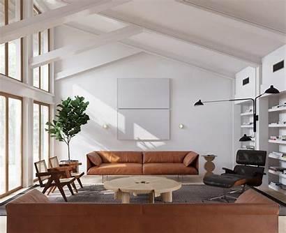Mid Century Interior Living Furniture Minimalist Minimalism