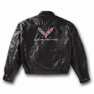 c7 corvette 2014 mens leather bomber jacket w corvette With leather jacket lettering