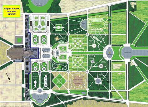Plan Jardin Versailles Chateau by Clickable Versailles Plan Versailles Grids Pinterest