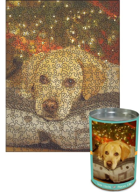 12x16 cut with 336 pieces custom puzzle up in