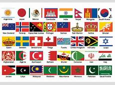 64 Country Flags with Religious Symbols Religio Magazine