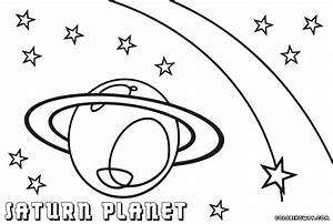 planet coloring pages coloring pages to download and print With saturn car s list