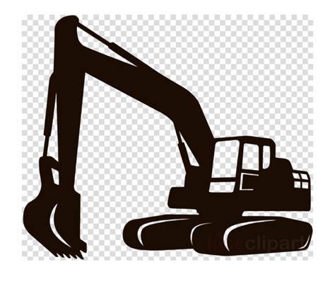 excavator clipart silhouette excavator silhouette transparent