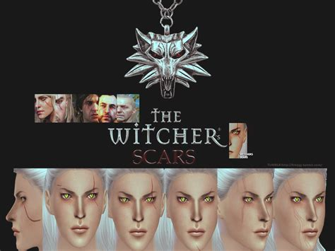 The Witchers Scars The Sims 4 Catalog