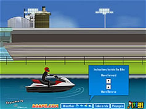 Water Scooter Game by Play Pimp My Water Scooter Game Online Y8