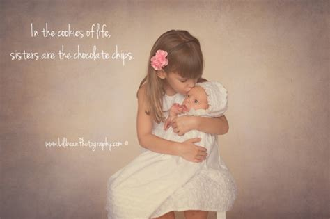 quotes about newborn baby sisters