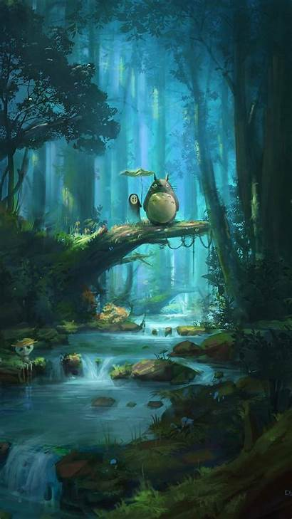 Ghibli Studio Totoro Face