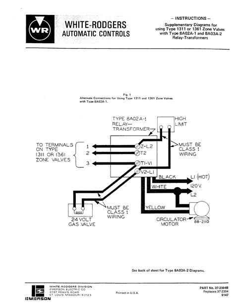 White Rodgers Wiring Diagram Sample