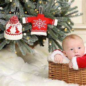 Personalised, New, Baby, Christmas, Knit, Stocking, By, Dibor
